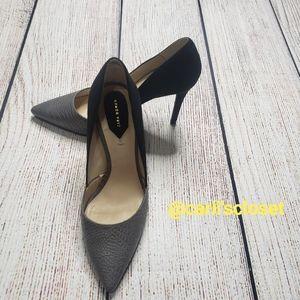Zara Woman Pointy Toe 2 Tone Stilettos